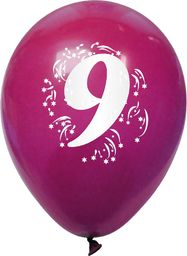Arpex Balony pastelowe numer 9 (mix)