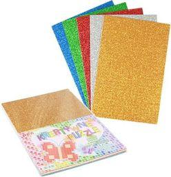 Polsirhurt Puzzle kreatywne brokat - mix kolorów 20x30cm