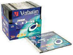 Verbatim CD-R/1/Slim 700MB 48x Extra Protect
