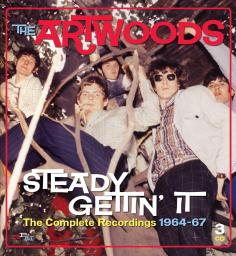 CHERRY RED The Artwoods - Steady Gettin'it