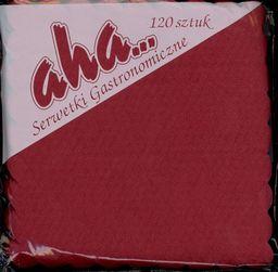 Aha! Serwetka gastronomiczna czerwona (AHAS0009)