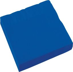 AMSCAN Serwetki niebieskie 33x33cm
