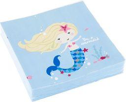 AMSCAN Serwetki Be a Mermaid 33 x 33cm (AMSC0112)