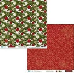 DP Craft Papier dwustronny 30,5 x 30,5 cm - Christmas Time 02, 5 szt. (PYDU-011-P02)