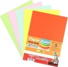 Polsirhurt Papier ksero A4 80g mix kolorów 200 arkuszy