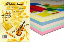 Protos Papier ksero A4 80g Mix kolorów 100 arkuszy