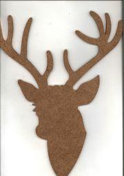 Enpap Ozdoba z płyty MDF - jeleń 001 41x31 cm (ENP-JEL001/4131)