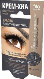 Fitocosmetics Henna do brwi i rzęs Grafit 2x2ml
