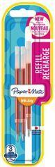 Paper Mate Wkład do długopisu INKJOY gel czerwony 3szt.blister (1957049)