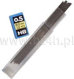 Titanum Grafit do ołówków HB HX-9858A Titanum 24szt