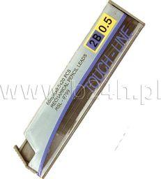 Titanum Grafit do ołówków 2B MSL-9799 12szt