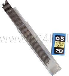 Titanum Grafit do ołówków 2B HX-9858A Titanum 24szt