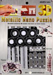 Dragon Nano 3D puzzle - krzywa wieża (DRAX0027)