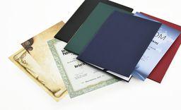Argo Okładka Do Dyplomów Galeria Papieru Standard Granat
