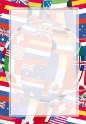 Argo Dyplom Argo flagi A4