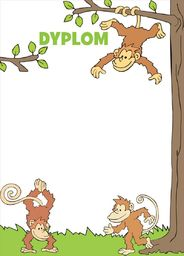 Beniamin Dypolmy dziecięce małpki
