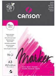 Blok biurowy Canson Marker layout A3 70g 70ark (200297233)
