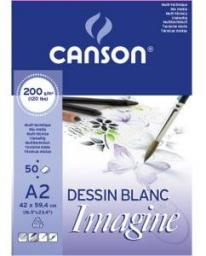 Blok biurowy Canson mix-media Imagine A3 200g 50ark (200006007)