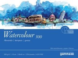 Blok biurowy Gamma Blok malarski Watercolour 300g 30x40 10ark