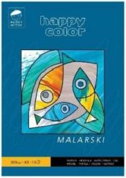 Blok biurowy Happy Color malarski Młody Artysta A3, 10ark, 200g (3720 2040-M10)