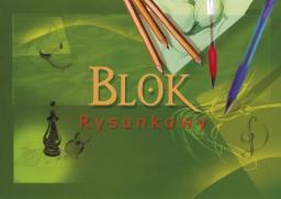 Blok biurowy KRESKA Blok rysunkowy A4 20 kartek