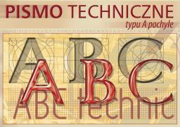 Blok biurowy KRESKA pismo techniczne typu A pochyłe A4