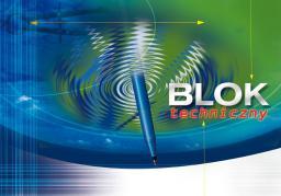 Blok biurowy KRESKA Blok techniczny A4 10k.