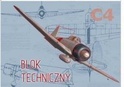 Blok biurowy KRESKA Blok techniczny C4 10k.
