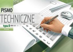 Blok biurowy KRESKA pismo techniczne typu B proste A4