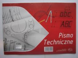 Blok biurowy Protos Pismo techniczne A4