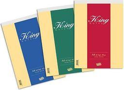 Blok biurowy Sigma notatnikowy A4/60k kratka 80gr Pool King