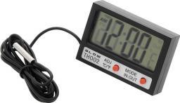 Stacja pogodowa Blow Termometr panelowy BLOW LCD + zegar TH002 50-311