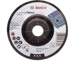 Bosch Tarcza ścierna wygięta 125mm Standard for Metal A 24 P BF (2.608.603.182)