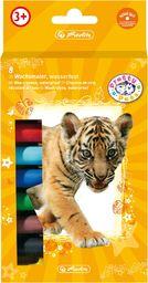 Herlitz Kredki świecowe szkolne Pretty 8 kolorów