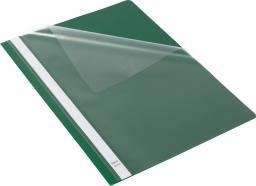 Skoroszyt Bantex Skoroszyt Standard A4 z wąsami zielony 25 szt