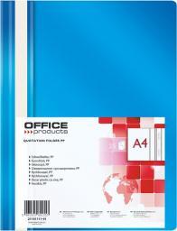Skoroszyt Office Products Skoroszyt niebieski 25szt  (21101111-03)