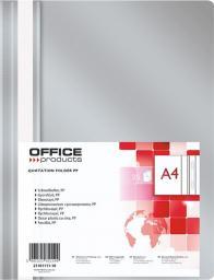 Office Products Skoroszyt szary 25szt