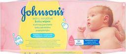 Johnson & Johnson JOHNSON & JOHNSON_Johnson's Baby Wipes Extra Sensitive łagodne chusteczki oczyszczające dla niemowląt 56szt.