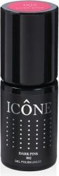 Icone Gel Polish UV/LED lakier hybrydowy 002 Dark Pink 6ml