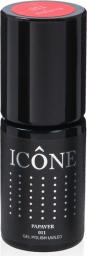Icone Gel Polish UV/LED lakier hybrydowy 011 Papaver 6ml