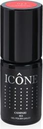 Icone Gel Polish UV/LED lakier hybrydowy 013 Campari 6ml
