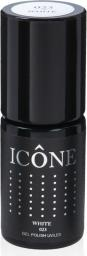Icone Gel Polish UV/LED lakier hybrydowy 023 White 6ml