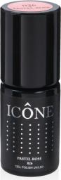 Icone Gel Polish UV/LED lakier hybrydowy 026 Pastel Rose 6ml
