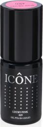Icone Gel Polish UV/LED lakier hybrydowy 029 Lucky Pink 6ml