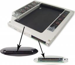 "Kieszeń MicroStorage na drugi dysk do laptopa, SATA - IDE, 2.5""  do MacBook (KIT503)"