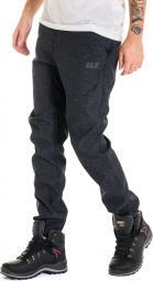 Jack Wolfskin Spodnie męskie Winter Travel Pants czarne r. 54