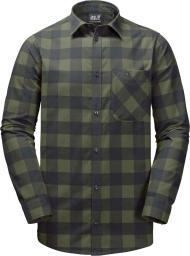 Jack Wolfskin Koszula męska Red River Shirt zielona r. L
