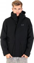 Jack Wolfskin Kurtka męska Falster Harbour Jacket czarna r. L