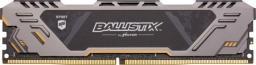 Pamięć Ballistix Ballistix Sport AT, DDR4, 8 GB,3000MHz, CL17 (BLS8G4D30CESTK)