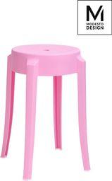 Modesto Design stołek CALMAR 46 różowy - polipropylen